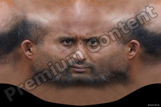 Man head premade texture 0007