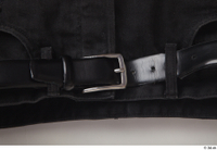 Clothes  188 belt black shorts clothes 0002.jpg