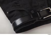 Clothes  188 belt black shorts clothes 0003.jpg