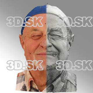 head scan of sneer emotion left - Milan 07