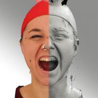 head scan of emotion - Ludmila 09