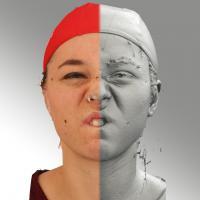 head scan of emotion - Ludmila 11