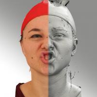 head scan of emotion - Ludmila 12