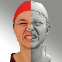 head scan of emotion - Ludmila 13