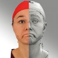 head scan of emotion - Ludmila 14