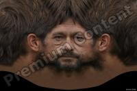 Man head premade texture 0010