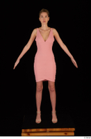 Shenika pink dress standing whole body 0001.jpg