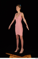 Shenika pink dress standing whole body 0002.jpg