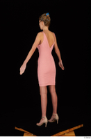Shenika pink dress standing whole body 0004.jpg