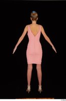 Shenika pink dress standing whole body 0005.jpg