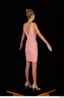 Shenika pink dress standing whole body 0006.jpg