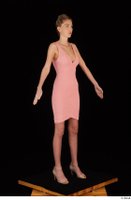 Shenika pink dress standing whole body 0008.jpg