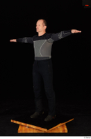 George black thermal underwear clothing standing t-pose whole body 0002.jpg