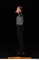 George black thermal underwear clothing standing t-pose whole body 0003.jpg