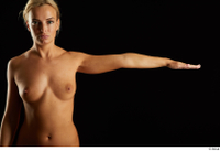 Victoria Pure  1 arm flexing front view nude 0003.jpg