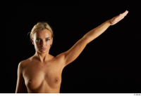 Victoria Pure  1 arm flexing front view nude 0004.jpg