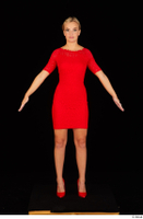 Victoria Pure red dress standing whole body 0001.jpg