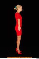 Victoria Pure red dress standing whole body 0003.jpg