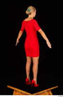 Victoria Pure red dress standing whole body 0004.jpg