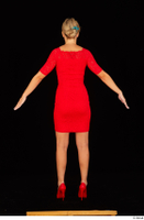 Victoria Pure red dress standing whole body 0005.jpg
