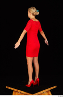 Victoria Pure red dress standing whole body 0006.jpg