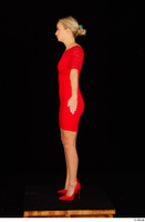 Victoria Pure red dress standing whole body 0007.jpg