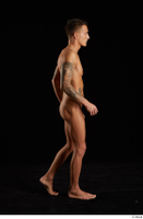 Claudio  1 nude side view tattoo walking whole body 0002.jpg