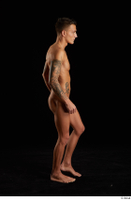 Claudio  1 nude side view tattoo walking whole body 0003.jpg