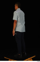 Garson black pants black sneakers grey shirt standing whole body 0004.jpg