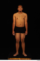 Garson black underwear standing whole body 0006.jpg
