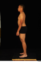 Garson black underwear standing whole body 0008.jpg