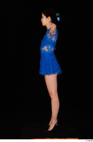 Lady Dee blue dress overall standing t poses whole body 0003.jpg