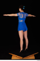 Lady Dee blue dress overall standing t poses whole body 0004.jpg