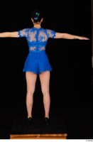 Lady Dee blue dress overall standing t poses whole body 0005.jpg