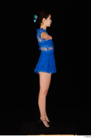 Lady Dee blue dress overall standing t poses whole body 0007.jpg