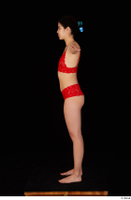 Lady Dee red underwear standing t poses whole body 0003.jpg
