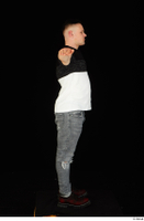 Torin blue jeans brown shoes standing t poses t shirt whole body 0003.jpg