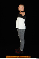 Torin blue jeans brown shoes standing t poses t shirt whole body 0007.jpg