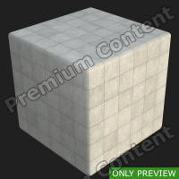 PBR substance preview concrete slabs 0001
