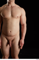 Torin  1 arm flexing front view nude 0001.jpg