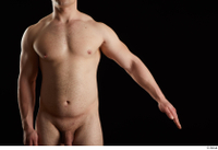Torin  1 arm flexing front view nude 0002.jpg