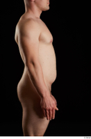Torin  1 arm flexing nude side view 0001.jpg
