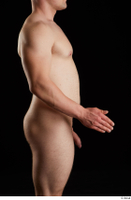 Torin  1 arm flexing nude side view 0002.jpg