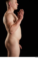 Torin  1 arm flexing nude side view 0005.jpg