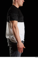 Torin  1 arm dressed flexing side view 0001.jpg