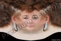 Woman head premade texture 0007