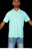 Aaron blue t-shirt dressed upper body 0001.jpg