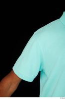 Aaron arm blue t-shirt dressed short sleeve shoulder 0001.jpg
