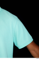 Aaron arm blue t-shirt dressed short sleeve shoulder 0002.jpg