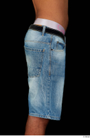 Aaron dressed hips jeans shorts 0007.jpg